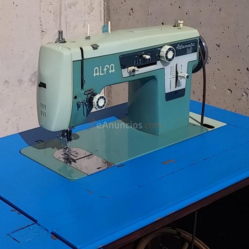 Máquina de coser ALFA ALFAMATIC 109 (1500777) - eAnuncios.com